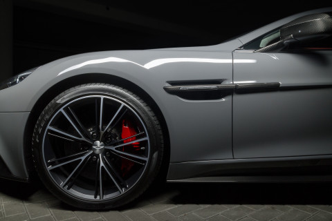 Aston Martin Vanquish Coupe China Grey Wheel
