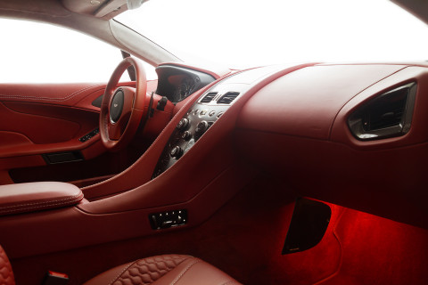 Aston Martin Vanquish Coupe China Grey Interior