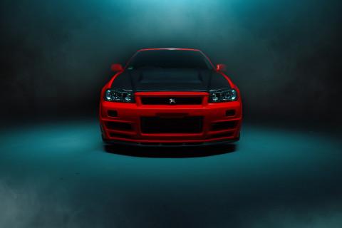 R34 GTR Front