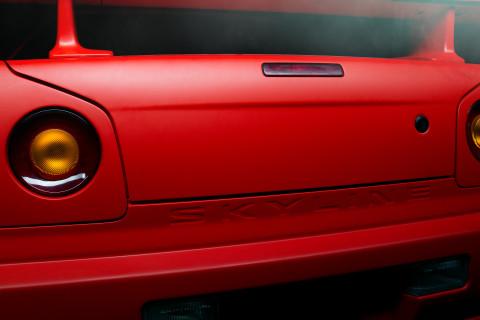 R34 GTR Back